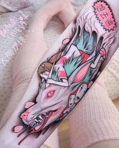 Feita por @BrandoChiesa #Tattoo #ViagemdeChihiro