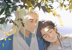 "LangLangDing龚俊唯爱张哲瀚 on Twitter: ""#WordOfHonor Ah Xu and Lao Wen's daily life after marriage💕(2) Cr. Tfwcs_鱼… "" Life After Marriage, China, Manhwa, Novels, Princess Zelda, Japanese, Words, Artist, Cute"