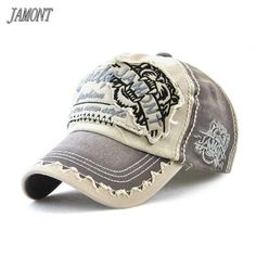 00a651f6 [JAMONT] Brand Wholesale Retro Baseball Cap Men Cotton Sun Hat For Women  Hip Hop