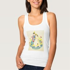 Vintage Snow White and the Seven Dwarfs Poster Tshirts Tank Tops