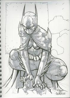 Batgirl by Ale Garza Comic Art