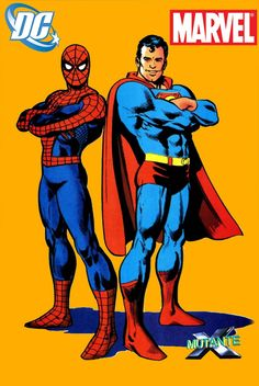 Homem Aranha e Superman