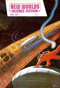 Thrilling Vintage Sci-Fi Magazine Cover Art