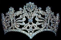 The Empress Josephine coronation tiara (1804).