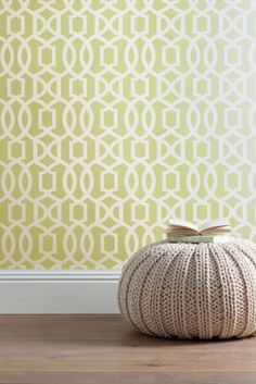 Buy Green Lattice Geo Wallpaper from the Next UK online shop