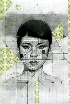 PATTERN/SHAPE: Samuel Rodriguez: The directional lines and splatters that this artist uses are very effective. I also like the rough pencil strokes that he uses to create his portraits. Portrait Art, Portraits, Portrait Ideas, Geometric Shapes Art, Shape Art, A Level Art, Arts Ed, Gcse Art, Medium Art