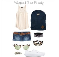 Something like what my warped tour outfit is going to look like
