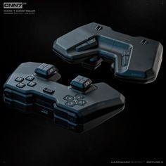 Robot Design, Game Design, Cyberpunk Games, Futuristic Armour, Custom Pc, Tech Hacks, Futuristic Technology, Mechanical Design, Game Controller