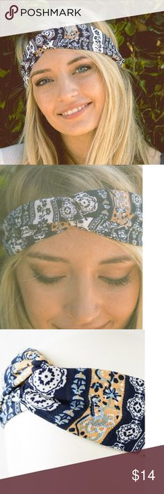 Selling this Boho Twist Headband in my Poshmark closet! #shopmycloset #poshmark #fashion #shopping #style #forsale #Accessories