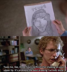 It's probably the best drawing I've ever done. ^^ Napoleon Dynamite<<<<this is too accurate for when I draw stuff haha