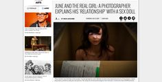June and the Real Girl  A Photographer Explains His  Relationship  With a Sex Doll   Village Voice