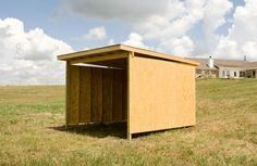 DIY Pasture Shelter - PetDIYs.com