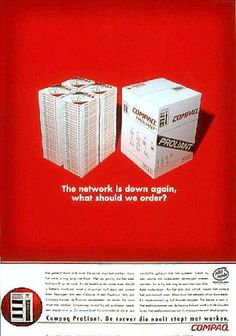 "Computers And Software: ""PIZZA"" Print Ad  by Ammirati Puris Lintas"