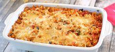 Macaroni-ovenschotel met Italiaanse groenten, tomaat en kaas - Kookidee