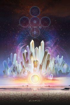 Crystalline Dreams by Isaac Mills (Mugwort Designs)