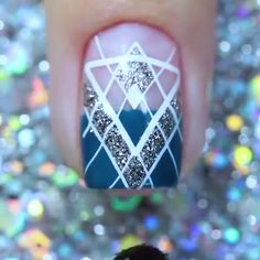 Top 9 New Nail Art Design ❤️💅 Nails Art Ideas Compilation 2019 . Fancy Nails, Diy Nails, Cute Nails, Pretty Nails, Purple Nail Art, New Nail Art Design, Nail Art Videos, Nail Art Designs Videos, Nagel Gel