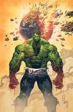 Incredible Hulk #01//Marc Silvestri/S/ Comic Art Community GALLERY OF COMIC ART
