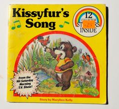 1980's Kissyfur's Song Book by GiddyGirlVintage on Etsy