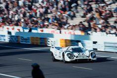 1971 Le Mans winning Martini Porsche 917 driven by Helmut Marko and Gijs van Lennep
