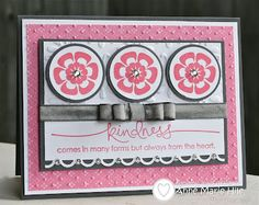 Stampin' Anne: Dynamic Duos #6 - Sparkly Regal Blossoms