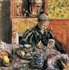 """amare-habeo: """" Édouard Vuillard (French, The Reader (La liseuse), 1910 Kunstmuseum Winterthur """" Edouard Vuillard, Winterthur, Dramas, Henri De Toulouse Lautrec, Pierre Bonnard, Impressionist Artists, Painting People, Woman Reading, Portraits"""