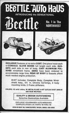 Beettle Auto Haus Beettle ad