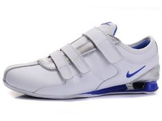 huge selection of bab5a 12520 Chaussures Nike Shox Rivalry R3 Blanc  Argent  Bleu  nike 12327  - €45.88