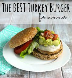 ... Burgers on Pinterest | Turkey burgers, Best turkey burgers and Burgers