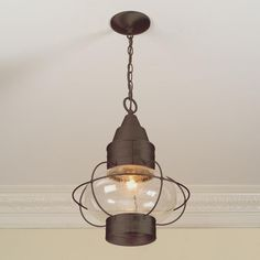 Nautical Hanging Lantern - Shades of Light  (for hallway)