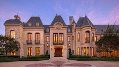 This grand French Chateau style mega mansion is located at 40 Beverly Park Circle in the prestigious guard-gated Beverly Park community in Beverly Hills, CA and is situated on 2 landscaped acres.
