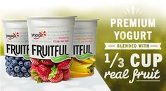 Yoplait Fruitful - 1/3 cup real fruit in every serving! Get a coupon HERE!