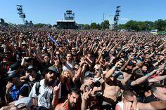 Les festivals Hellfest et Charrues, rois des réseaux sociaux
