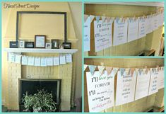 """These are quotes from children's books. This is cute for decorations OR for a game of """"guess that quote""""."""
