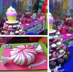 SWEET CANDY ARCH Birthday Game Party Game Theme Party Candy Land | Candy  Land Theme | Pinterest | Birthdays, Game Party And Candy