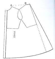 Resultado de imagem para moldes e modelagem de casaco sobre tudo