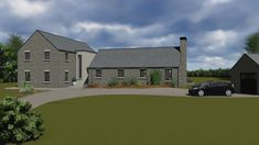 mod065-2 House Designs Ireland, Cottage Renovation, Architect House, New Builds, Modern House Design, Bungalow, House Plans, House Ideas, Barn