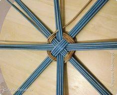 Panel Weave Master Class 40 cm Papel Prensa tejer espiral Tubos de papel Foto 2