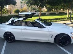BMW 428 I Convertible 2014 Driven 14500 kmsonly !! - AED 175,000