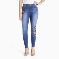 Women's Gloria Vanderbilt Jessa Curvy Skinny Jeans, Size: 8 - regular, Blue