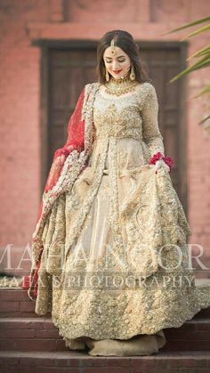 Asian Wedding Dress Pakistani, Pakistani Formal Dresses, Wedding Dresses For Girls, Pakistani Outfits, Indian Dresses, Pakistani Hair, Bride Dresses, Indian Outfits, Party Dresses