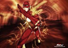 The Flash - Wally West by M4W006