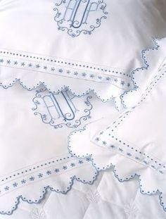 Antique lookalikes: Tara bed linen from Leron Linens