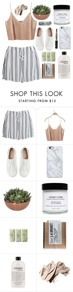 """&"" by lisajeff ❤ liked on Polyvore featuring WithChic, Mint Velvet, Uncommon, Honey Corn, L:A Bruket, philosophy and Bobbi Brown Cosmetics"