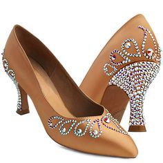 BeSparkle Crystallized Design PT523 | Dancesport Fashion @ DanceShopper.com
