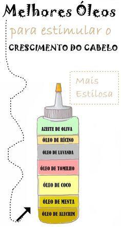 Melhores óleos, vegetais, naturais e essenciais para fazer o cabelo crescer mais rápido, nutrido e saudável. Descubra!