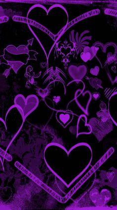 Flower Iphone Wallpaper, Samsung Galaxy Wallpaper, Unique Wallpaper, Emoji Wallpaper, Heart Wallpaper, Purple Wallpaper, Butterfly Wallpaper, Purple Backgrounds, Cute Wallpaper Backgrounds