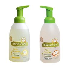BabyGanics Foaming Dish  Bottle Soap! I just love BabyGanics products they are both safe and effective. I love that this company thinks about our childerns safety and future!