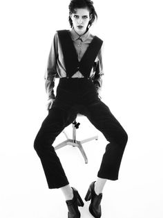 Giorgio #Armani black velvet jumpsuit