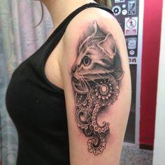 Cat Tattoo_