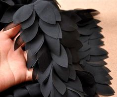 Cheap tulle lace trim, Buy Quality lace trim directly from China tulle lace Suppliers: Good quality Black Leaves Chiffon Lace Fabric DIY Dress Wedding Craft Sewing Tulle Lace Trim Clothing Wedding Sash, Bridal Sash, Wedding Fabric, Dress Wedding, Chiffon Flowers, Chiffon Ruffle, Tulle Lace, Lace Ribbon, Chiffon Fabric